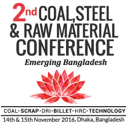 2nd Coal. Steel & Raw Material Conference - Emerging Bangladesh